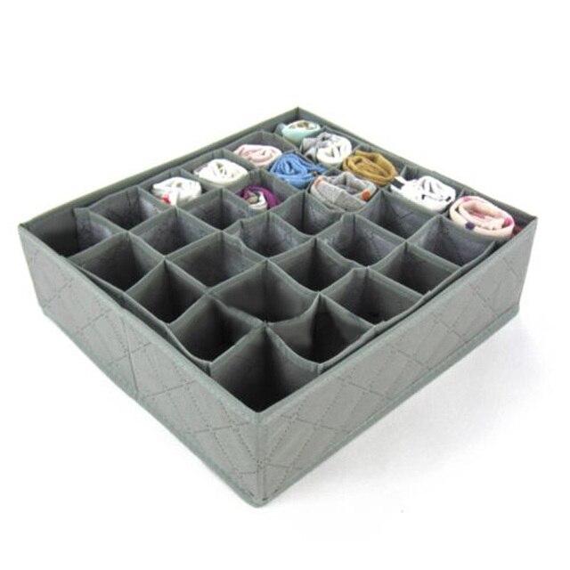 30 Slots boîte de rangement Armoire Organisateur Tiroir Chaussettes ...