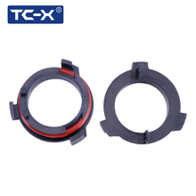TC-X LED H7 Фары для Авто адаптер держатель для Mazda/honda cr-v/Opel Astra G автомобиля средства для укладки волос H7 Лампы для мотоциклов адаптер База 2 шт