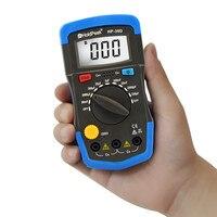 Mini Multimeter Multimetro HoldPeak HP 36D LCD Digital Capacitance Meter Capacitor Tester PF MF Circuit Gauge