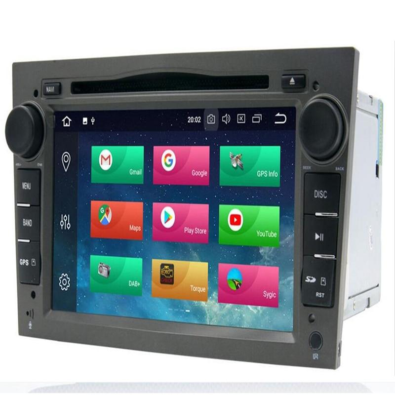 2din Android 9.0 8core Car Multimedia Player For Opel Vectra C Zafira B Corsa D C Astra H G J Meriva Vivaro Gps Navigation Radio Strengthening Sinews And Bones Car Intelligent System Car Electronics