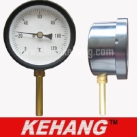 vertical bimetal water thermometer