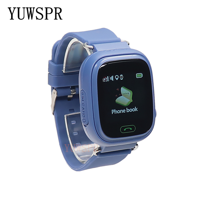 kids GPS Tracker watch GPS LBS location Anti-Lost SOS Call Finder Touch Screen Tracking Safe children Smart watch gift Q90 G72 3