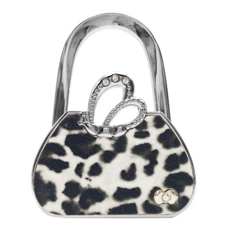 30PCS / LOT Portable Metal Foldable Bag Purse Hook Handbag Hanger Purse Foldable Purse Handbag Hanger Table Hook Holder