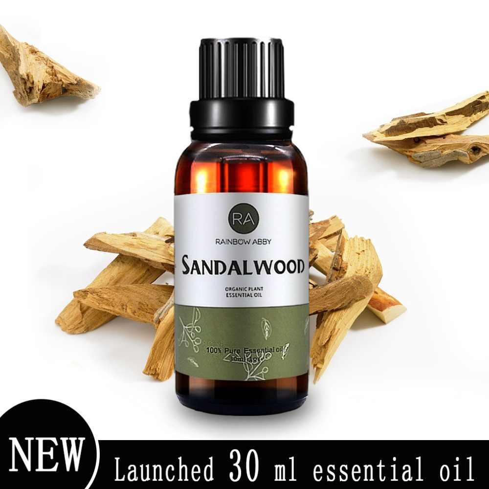 Aceites Esenciales de 30 ml aceites esenciales de aromaterapia de sándalo purifica el corazón y la meditación de la india 100% natural