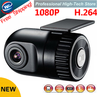 Free Shipping!1920*1080P W168 HD Smallest Car Camera 140 high definition wide angle lens 12V Car DVR Cam recorder G sensor