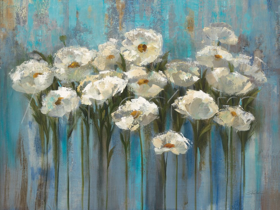Flower Oil painting Anemones by the Lake Silvia Vassileva Painting Modern art Christmas decorations High quality Hand paintedFlower Oil painting Anemones by the Lake Silvia Vassileva Painting Modern art Christmas decorations High quality Hand painted