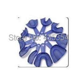 10 Pieces / lot Dental Materials Plastic Impression Trays Can be disinfected As Shown In Picture