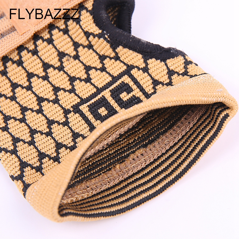 FLYBAZZZ 1PCS High Elastic Bandage Fitness Yoga Hand Palm Brace Wrist Support Crossfit Powerlifting Gym Wraps Palm Pad Protector (5)