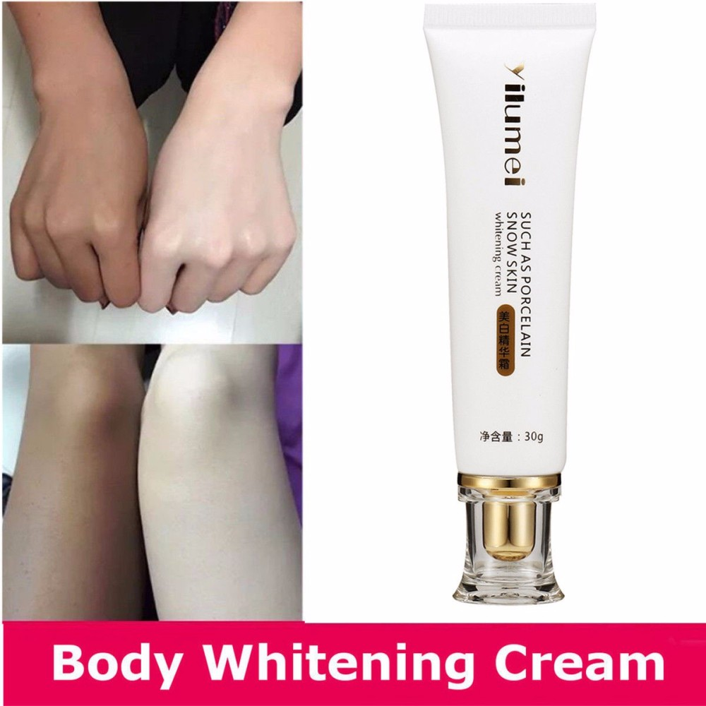 Drop Ship Skin Bleaching Cream Whitening Cream Whole Body Lotion Neck Knee Leg Whitening Lotion Moisturizing Skin Care TSLM1