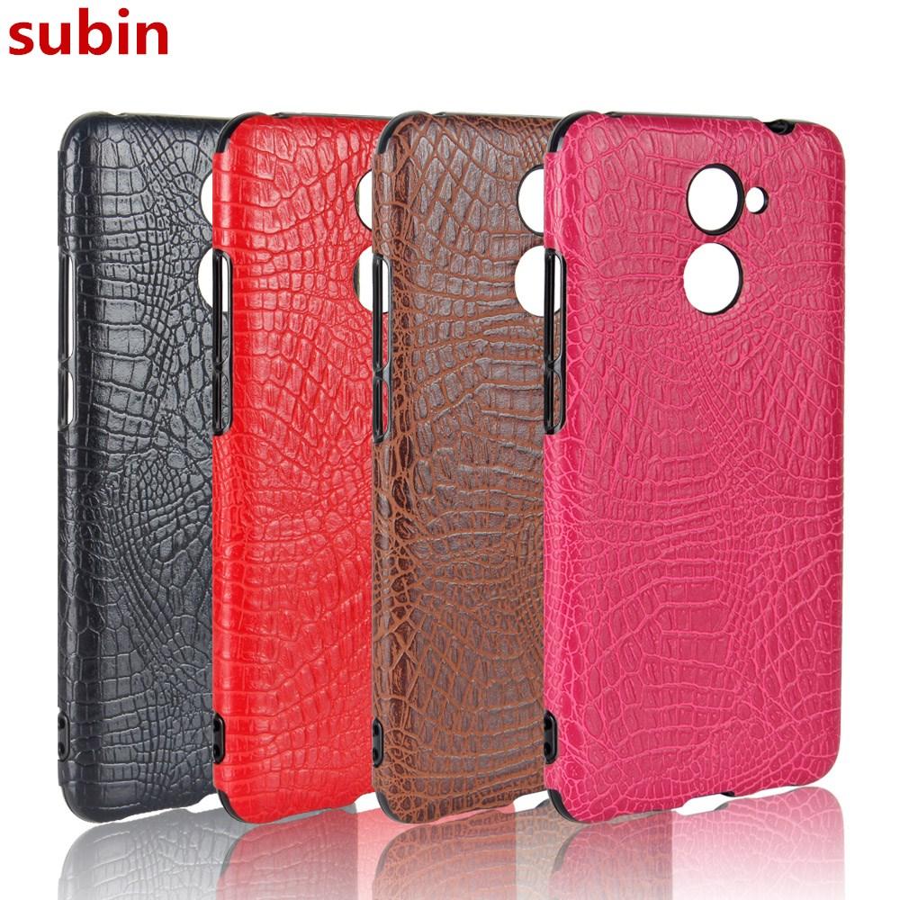 Huawei Y7 Prime Case 5.5inch Retro Luxury TPU Soft Crocodile Skin - Accesorios y repuestos para celulares