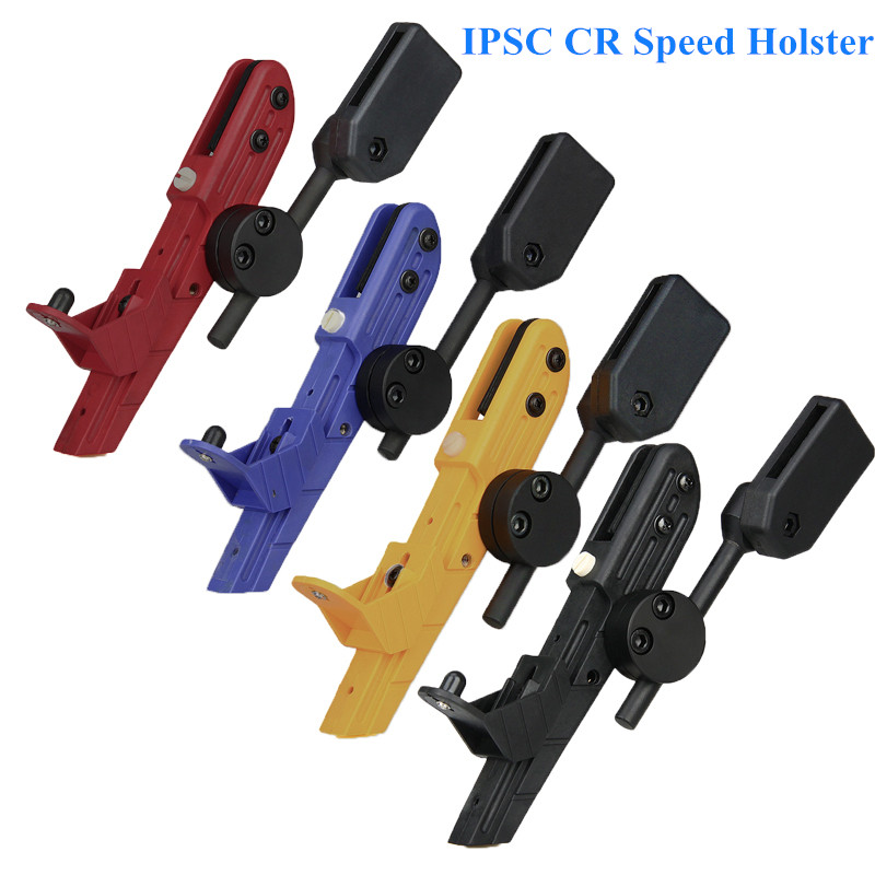 PPT Black Red Blue Yellow Tactical Right Hand IPSC Style Universal CR Speed Holster For Outdoor Hunting GZ7-0021
