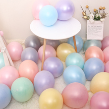 Ice Cream Color Balloons Birthday Party Supplies Wedding Decoration  Pearl Balloon 20set(40pcs) Latex Round Macaron