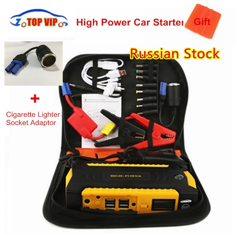 Car Jump Starter 12V Portable Starter Power Bank 600A Car Charger For Car font b Battery