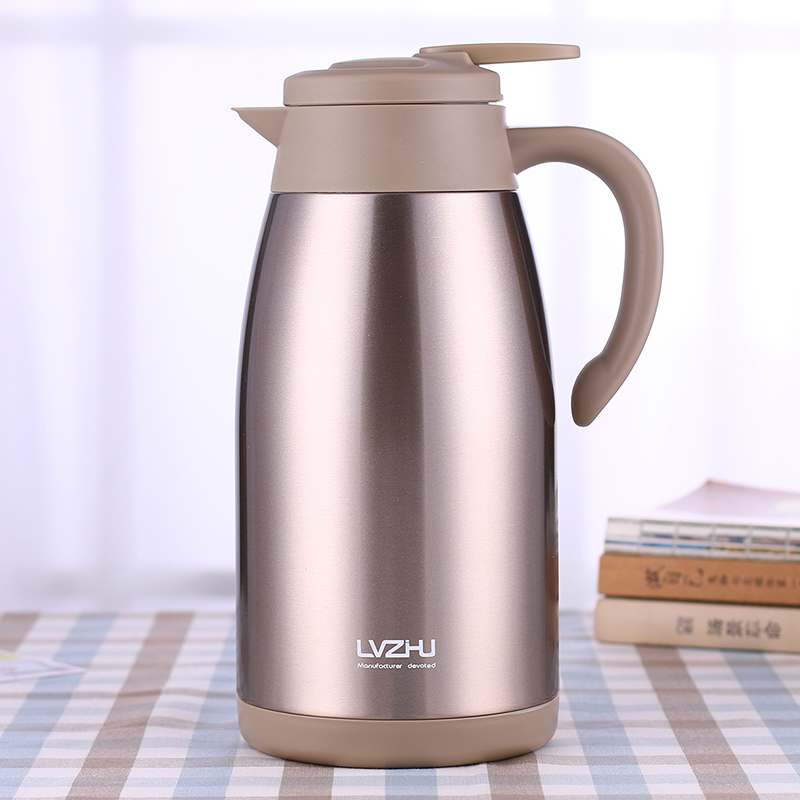 2000ml Vacuum Flasks Bottles Thermos Coffee Mug Travel Kettle Stainless Steel Thermal Insulation Thermocup My Water Bottle