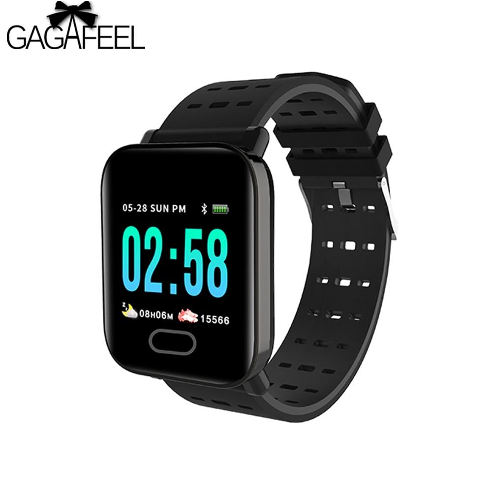 GAGAFEEL M20 Smartwatch Men Women Watch Real Time HR Blood Oxygen Pressure Monitor Long Standby Sport Smart Watch  : 91lifestyle
