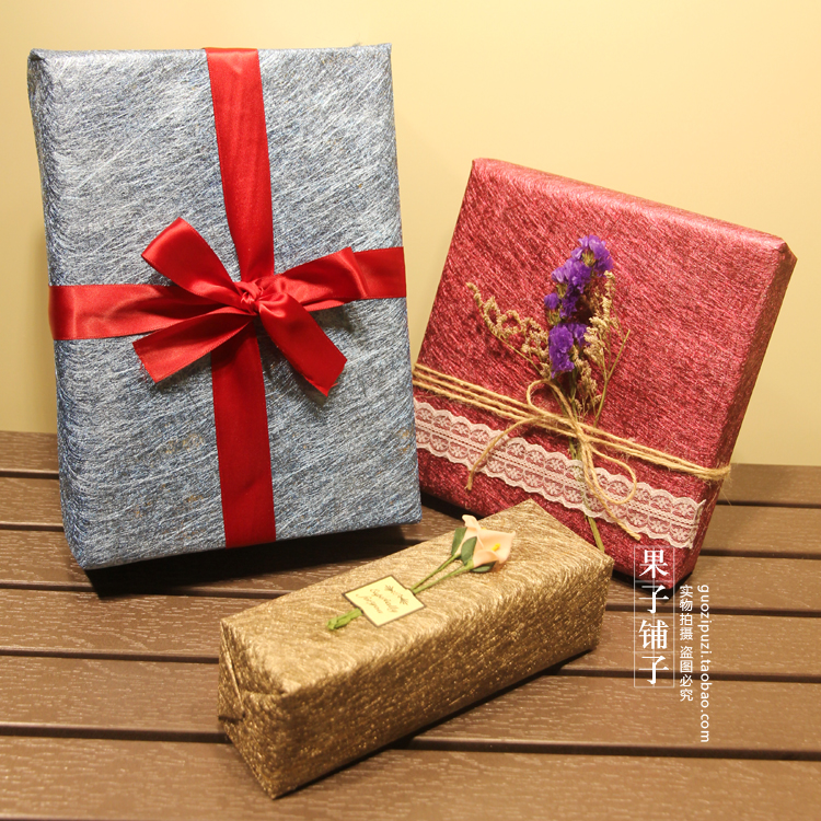 Christmas Business Gifts.Us 1 73 33 Off High End Business Gifts Flowers Wrapped Paper Wedding Birthday Party Gift Pack Paper Christmas New Year Supply Wrapping Paper In