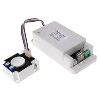 Medidor multifunction sem fio dc 0-80 v 0-300a do ampere do voltímetro com sensor do salão