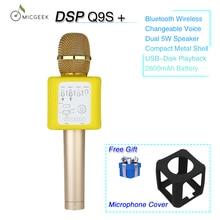 MicGeek Q9S+ Male/Feminine Voice Change Microphone Wi-fi Karaoke Microphone Speaker Bluetooth KTV Smartphone Microphone Karaoke
