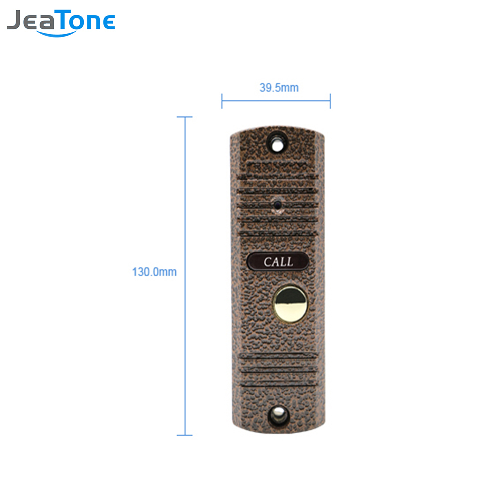Jeatone 7 Inch Wired Video Door Phone Doorbell Intercom Touch Button Wiring Diagram Grommet Key Monitor 1200tvl Waterproof Security Camera Call Panel In From