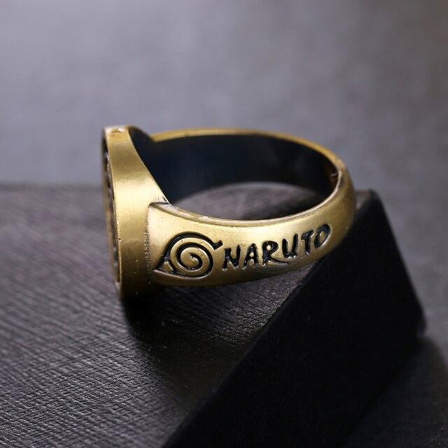 Naruto Sasuke Konoha Ring