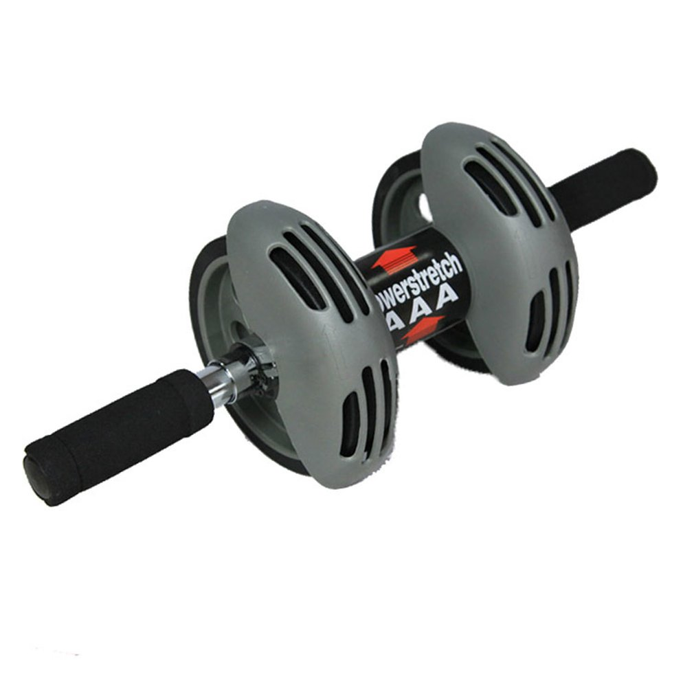 Indoor Double Wheel ABS Silent Abdominal Muscle Training Device Total Body Exerciser Outdoor Fitness Equipment Strength Muscle