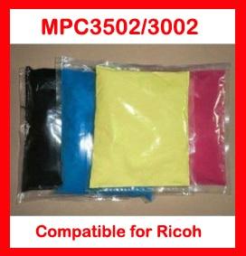 High quality color toner powder compatible Ricoh MPC3502 MPC3002 MP C3502 C3002 3502 3002 Free Shipping
