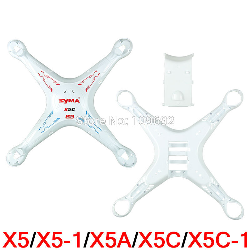 Fast Delivery Original SYMA X5 X5-1 X5A X5C X5C-1 Main Body Shell Cover RC Quadcopter Drone Accessories Helicopter Spare Parts