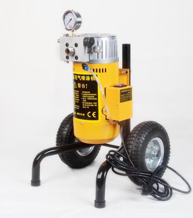 سمپاش برقی رنگ اسپری سمپاش پنوماتیک بدون هوا اسپری رنگ ماشین اسپری رنگ امولسیون اسپری رنگ M819D