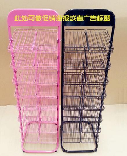 Wrought iron nail polish shelf. Nail shop shelves. Receive a tear open outfit