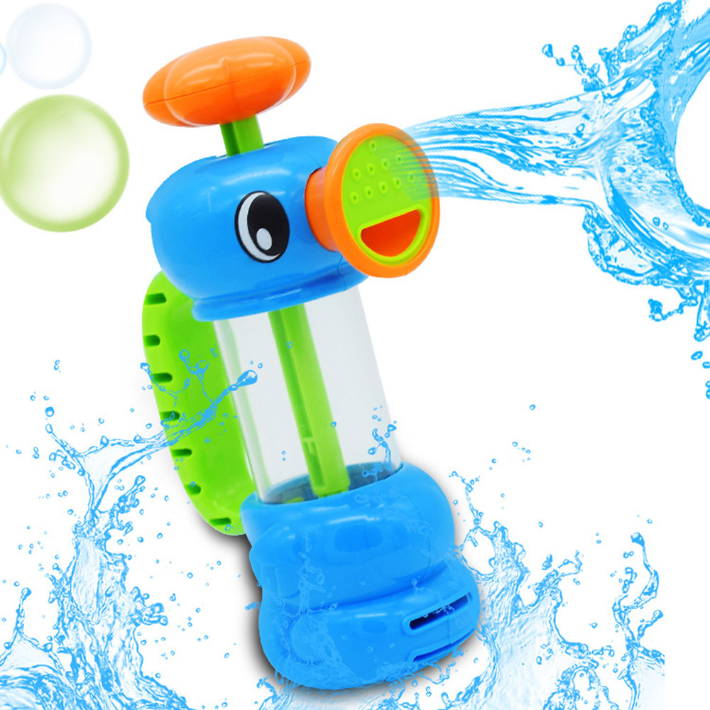 Water Spray Toy Funny Intelligence Toys Summer Cute Beach Spray Duck Water Pump Toy Baby Bath Wash Play Toy 30S875 wholesale