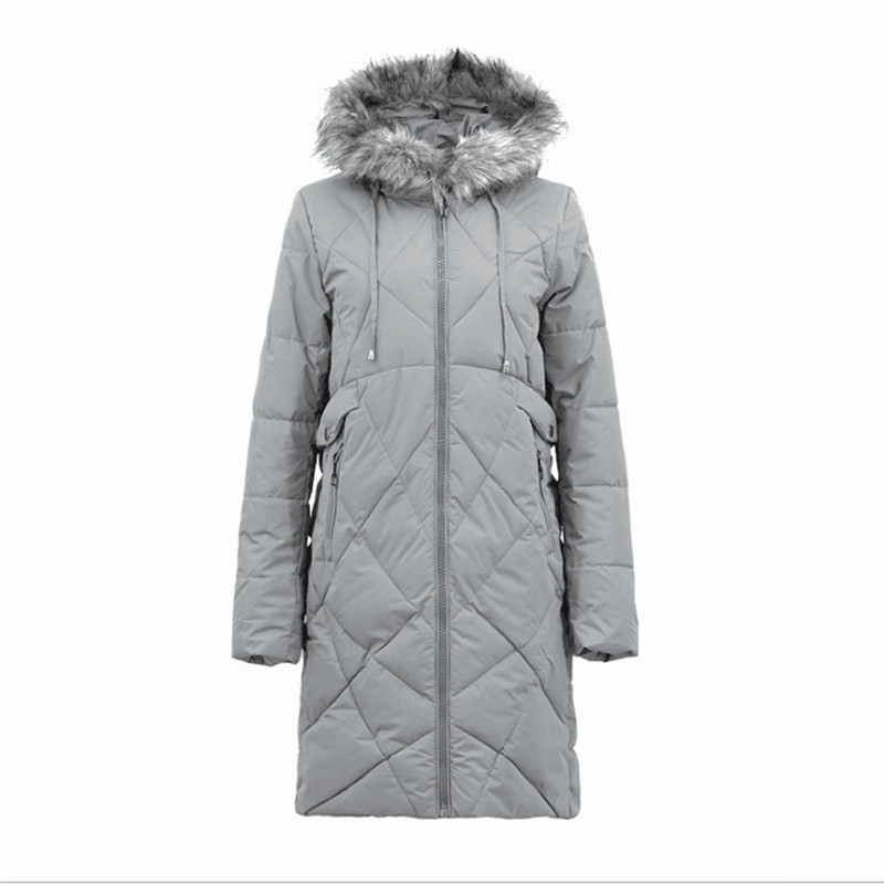 Winter Wear, Waterproof And Warm Cotton Clothes, Coat, Long Coat Collar And Fur. 2018 FREE SHIPPING Women`s Ski Jacket 2016 new aarrivals fashional women hoody long style warm winter coat women plus size s xxl free shipping