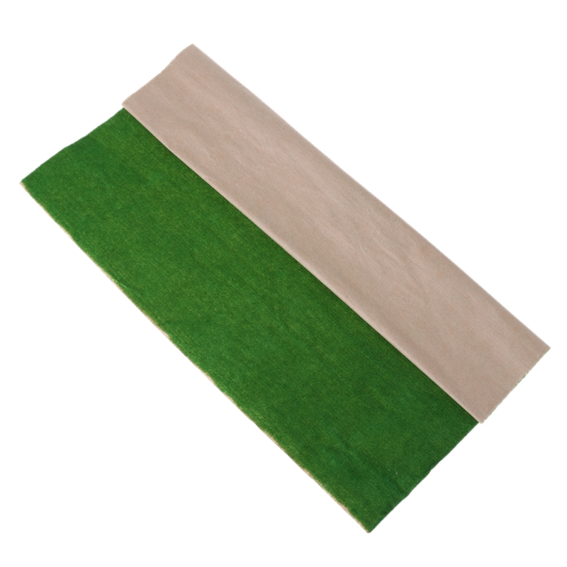 50x50cm Grass Mat Landscape Model Train Scenery Layout Lawn Home Decoration
