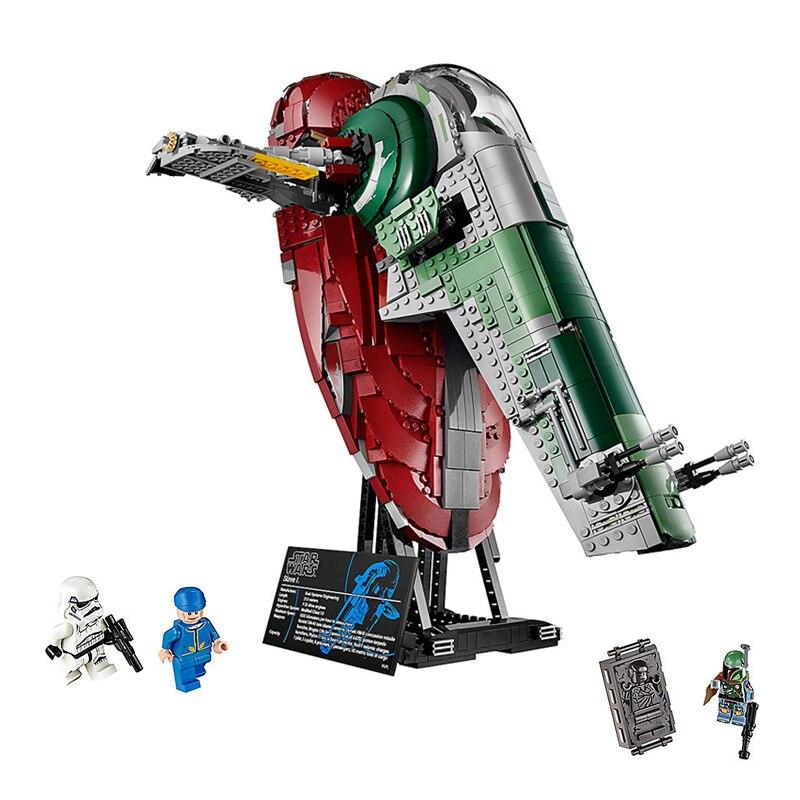 Здесь можно купить  Creative Star Wars Series UCS I Slave NO.1 Model Building Blocks Compatible LegoINGlys 75060 05037 Bricks Traditional Toys Gifts  Игрушки и Хобби