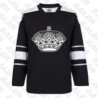 EALER free shipping Los Angeles Training suit With Printing kings Logo ice hockey jerseys in stock customized E062