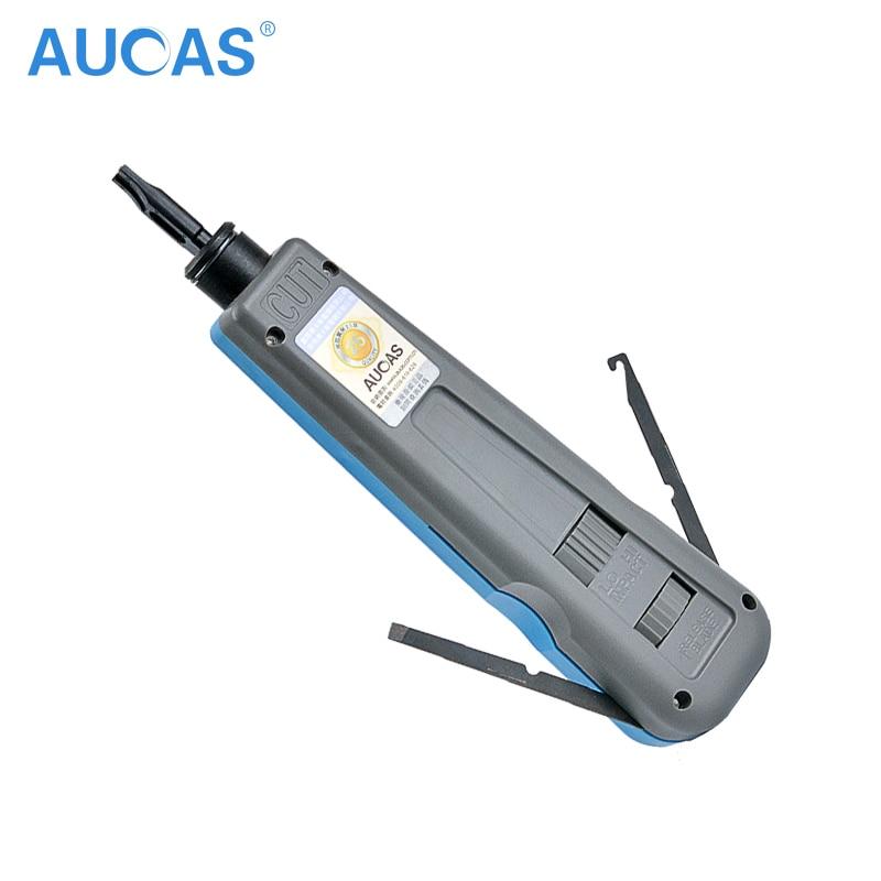 Aucas Netzwerk Kabel Auswirkungen Krone Werkzeug Modul Block Einfügen Anlege Werkzeug 110 Typ Patch Panel Hookup Computer Werkzeug