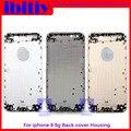 Reemplazo pulgadas carcasa de la cubierta posterior para iphone 6 6g 4.7 Tapa de la batería Cubierta de La Puerta Gris Oro Blanco de oro Rosa Envío gratis