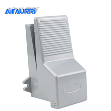 4F210 08 Reset Foot Operated 5 Way 2 Position 1/4 Pneumatic Foot Pedal Valve Foot Air Pedal Valve Control