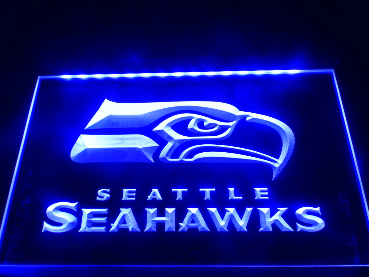 Buy Ld242 Seattle Seahawks Bar Pub Led