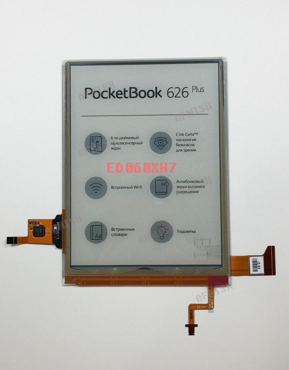 ED060XH7 Eink 100% nowy wyświetlacz LCD ekran dla pocketbook 626 plus i pocketbook dotykowy lux 3 darmowa wysyłka