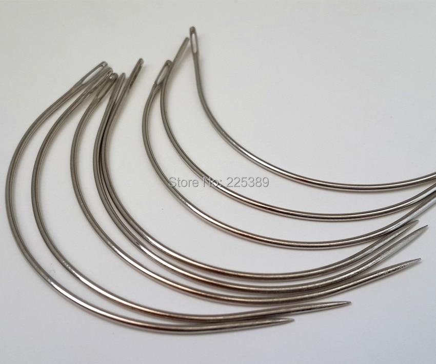 Wholesale 3600pcs Big Type 90mm C Type Hair Weaving Needlesewing