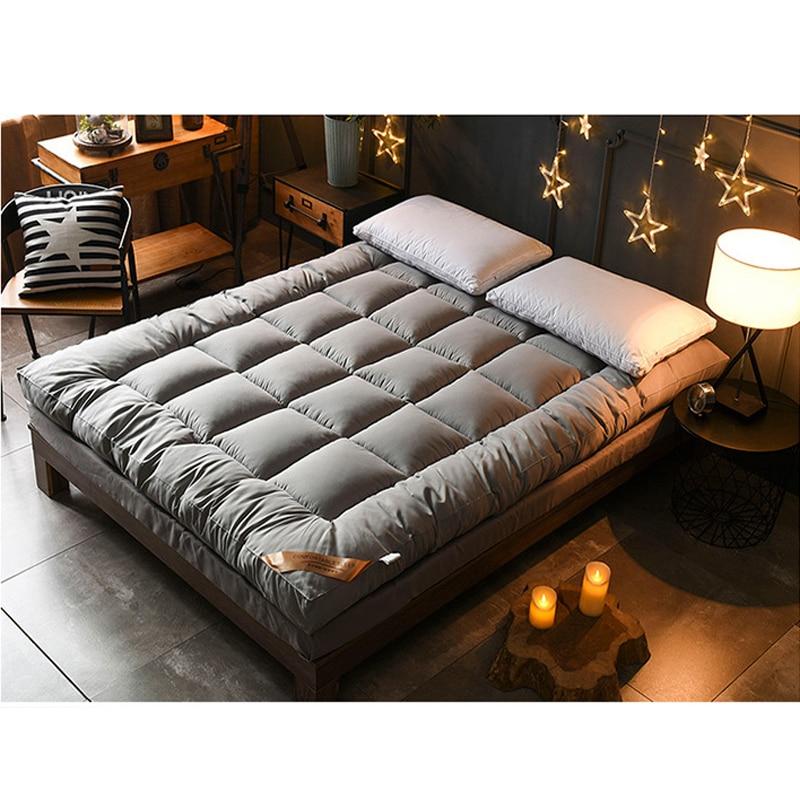 3CM 100% Cotton Mattress Double Bed Mat Tatami Mattress Multi-size Anti-skid Mattress Student Dormitory Bed Mat