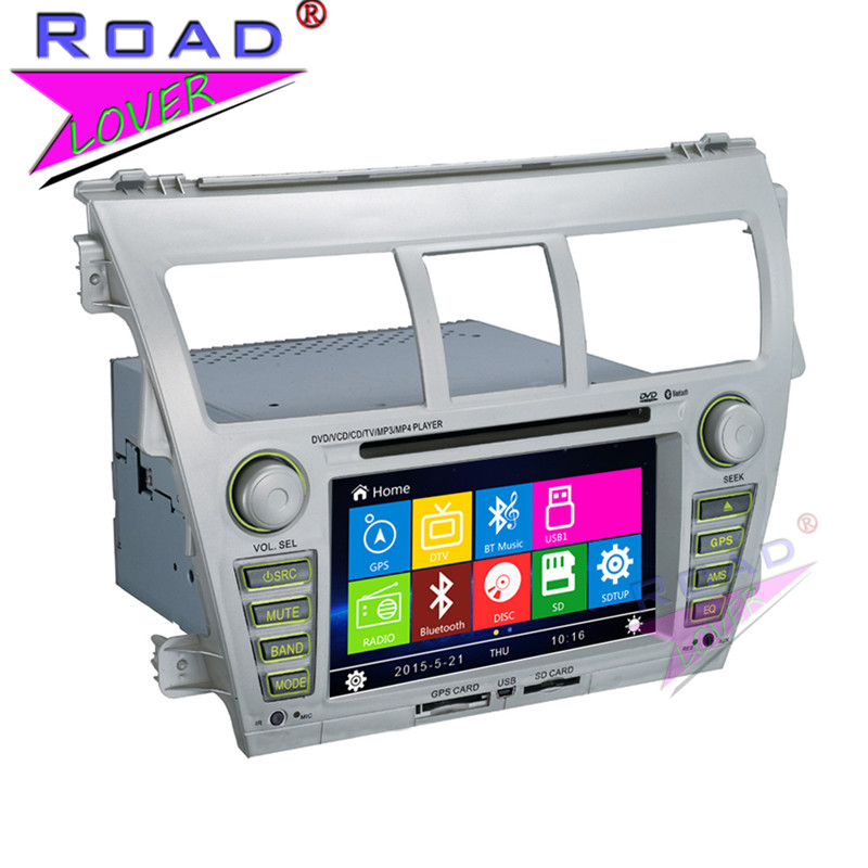 TOPNAVI Wince 6.0 2Din 6.2Inch Car Media Center DVD Player For Toyota Vios 2007- Stereo GPS Navigation Auto Radio HD TFT Touch