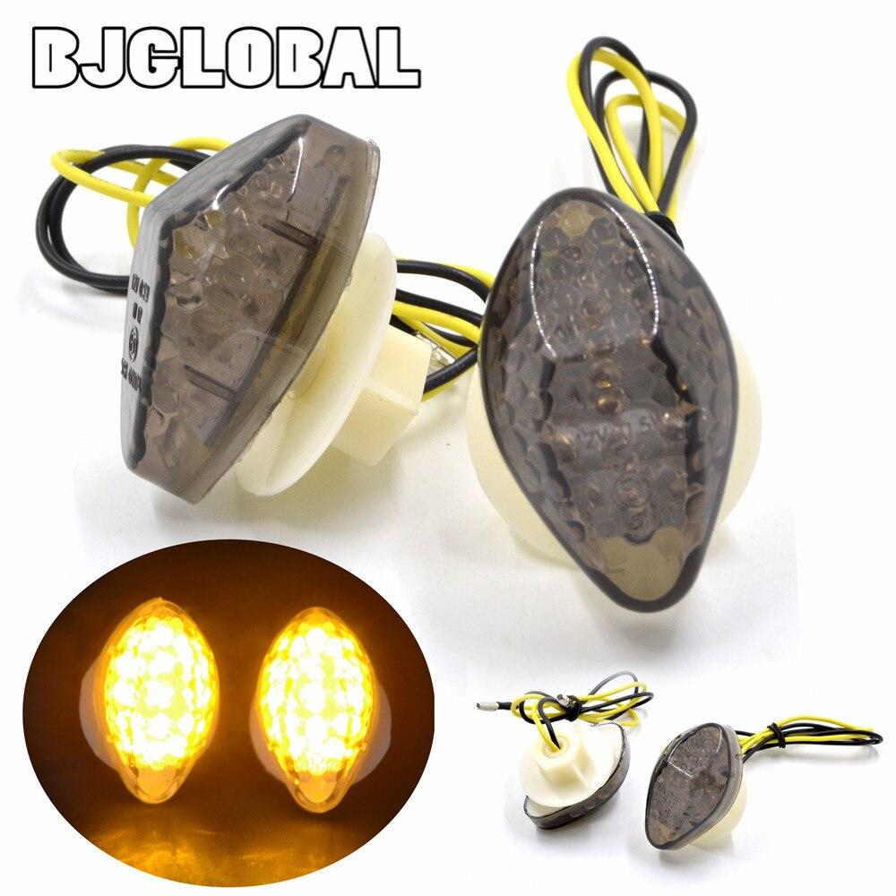 For Honda CBR 600 RR CBR 1000 RR 2003 2004 2005 2006 2007 2008 2009 2010 2011 2012 Moto Turn Signals Light Lamp LED Blinkers 12V