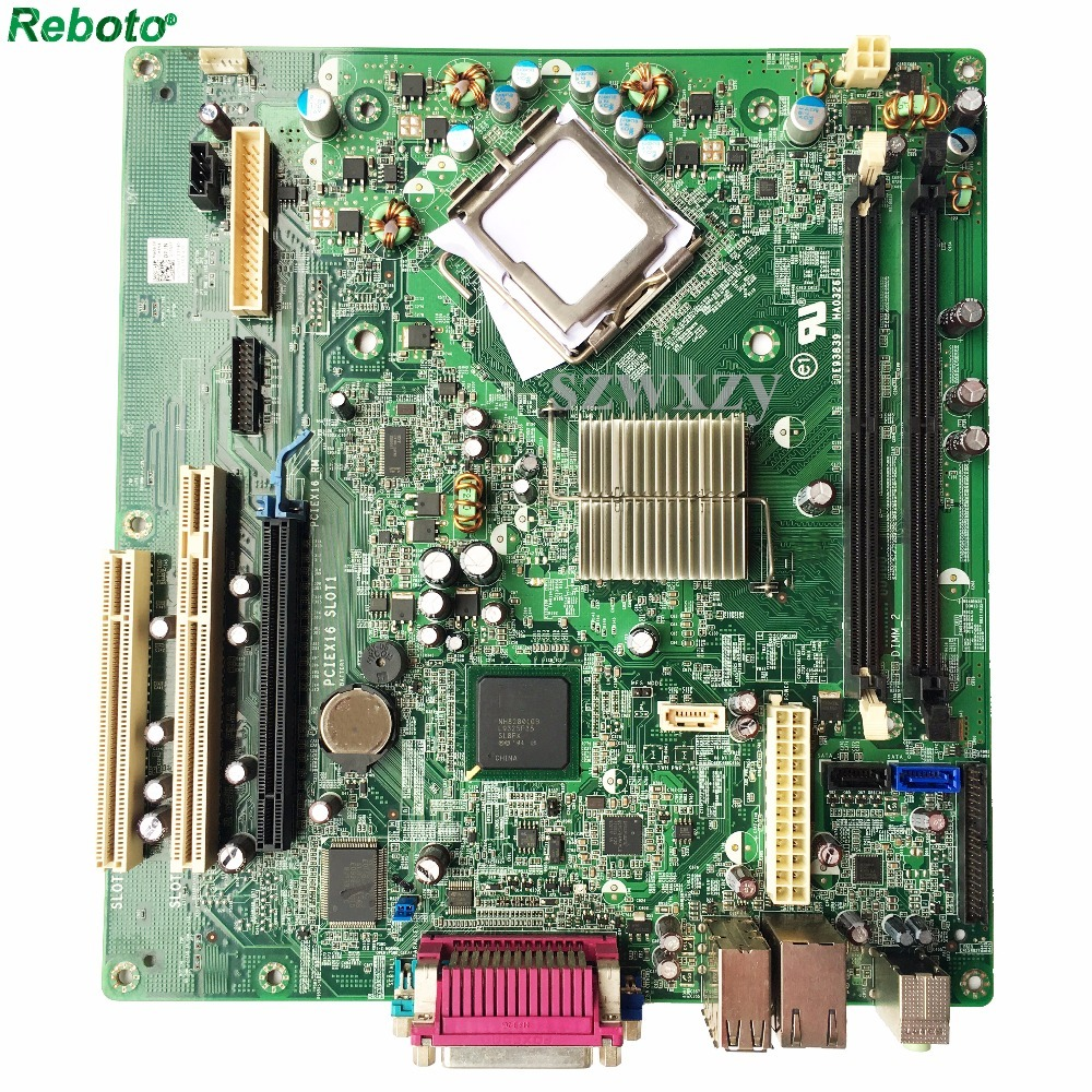 For DELL Optiplex 360 Desktop Motherboard T656F 0T656F Chipset G31 LGA775 DDR2 Full Tested-in Motherboards from Computer & Office    1