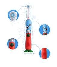 Гигиена полости рта Dental Care Аккумуляторная Электрическая Зубная Щетка с музыка таймер Вращения Детские Детская Зубная Щетка