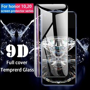 Image 5 - מזג זכוכית עבור Huawei Honor 10 20 לייט 10i מסך מגן מלא כיסוי מגן זכוכית לכבוד 10 10i לייט 20 פרו זכוכית