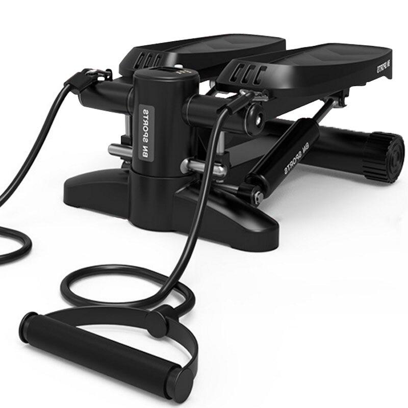 Multi-fonction mini tapis roulants pas à pas machine de fitness ménage silencieux perte de poids machine musculation équipement de course à chaud
