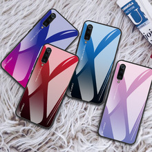 JASTER Gradient Glass Case For Xiaomi Redmi Note 4X 5A Glossy 5 K20