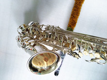 Alto saxophone High quality  Silver plated  54 Sax Perfect quality Complete fittings Free shipment Musical Instruments