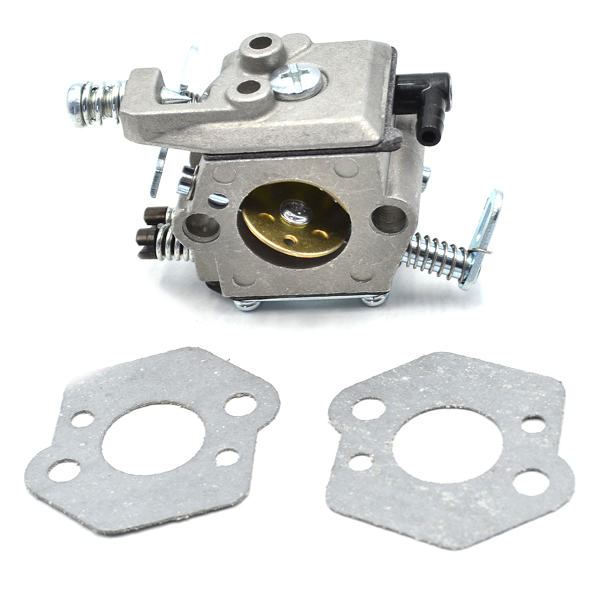 Walbro Carburetor Carb with Gasket Kit For MS210 MS230 MS250 Chainsaw Spare Parts high quality carburetor carb carby for husqvarna partner 350 351 370 371 420 chainsaw poulan spare parts walbro 33 29